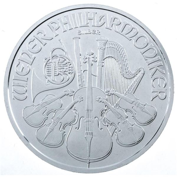 Collector Bullion Round 2021 Philharmonic  1.50 Euro .99 Fine Silver 1oz ASW