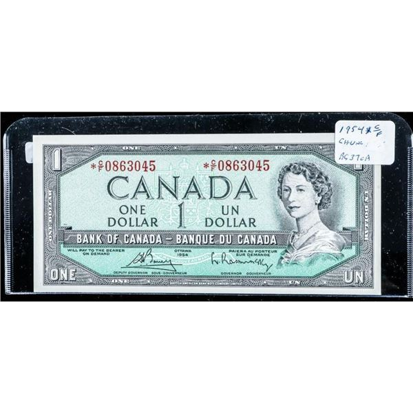 Bank of Canada 1954 1.00 Choice UNC (C/F)  *Replacement B-R