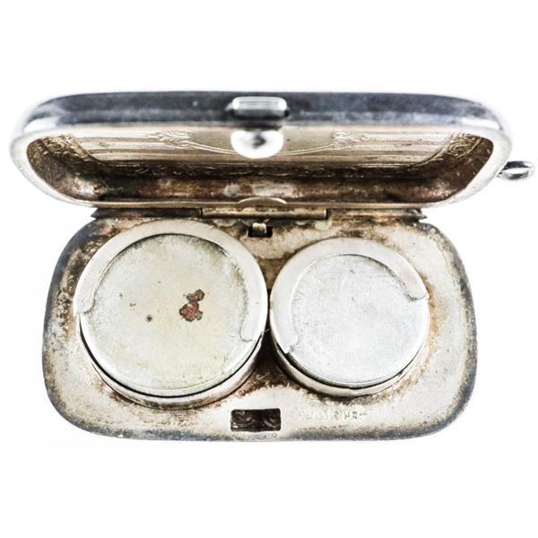 Estate - German Silver Engravable Change  Purse