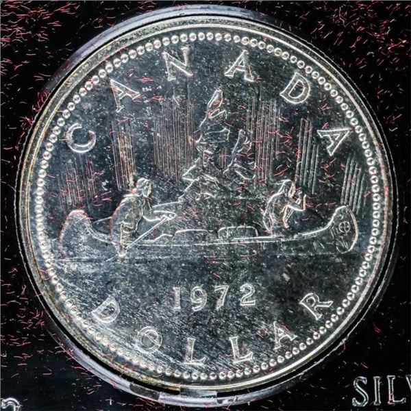 CANADA 1972 Silver Dollar