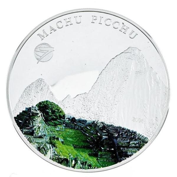 Machu Picchu 500 Terper 925 Sterling Silver  Coin