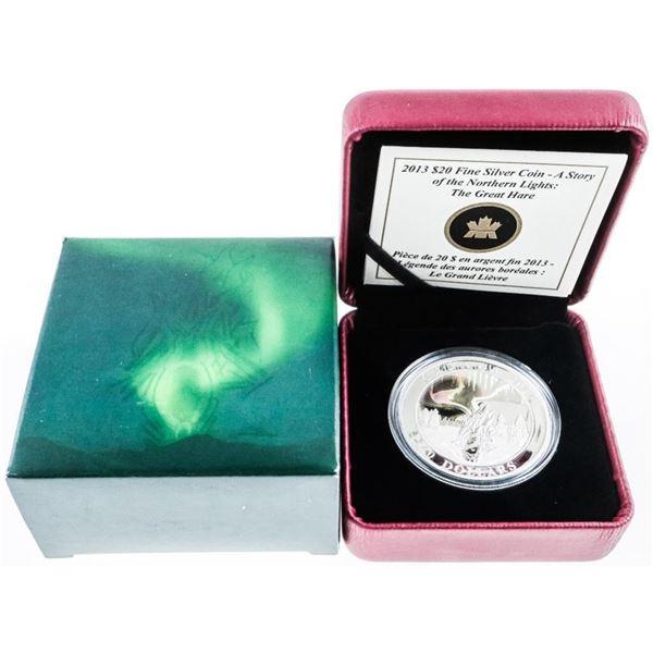 RCM 'The Great Hare' .999 Fine Silver $20.00  LE