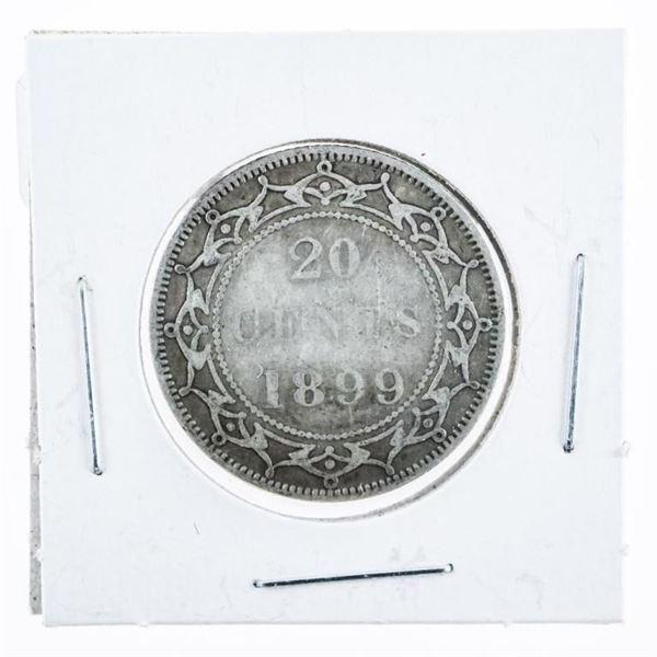 1899 NFLD Victoria 25 Cent