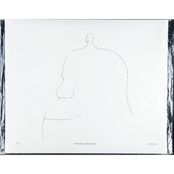 "John Lennon Giclee 'The Fat Growth on Eric  Hearable' 13x18"" unframed"