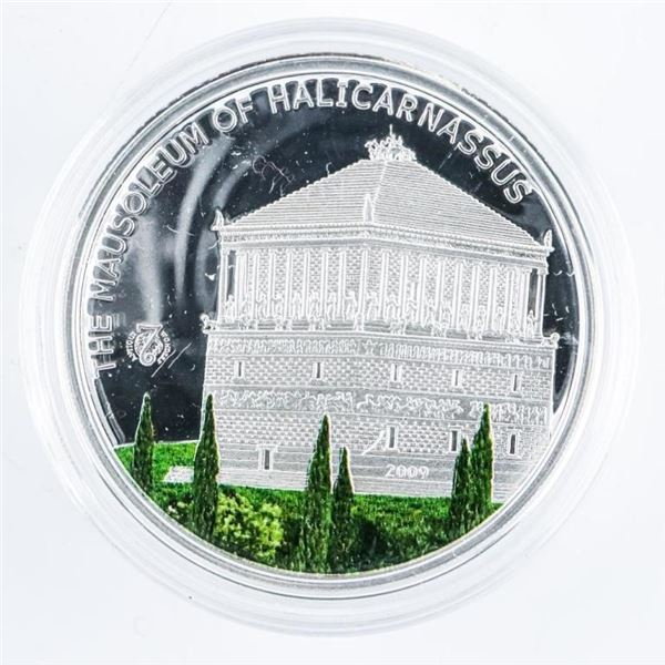925 Proof Sterling Silver $5.00 Coin with  Colour