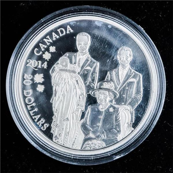 RCM 2016 'Police' .999 Fine Silver $15.00  Coin LE. SOLD OUT