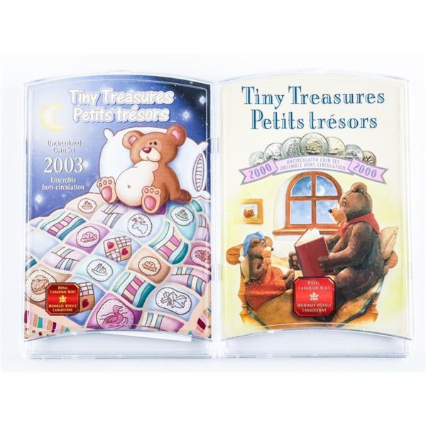 Lot (2) RCM - Tiny Treasures 2000 and 2003