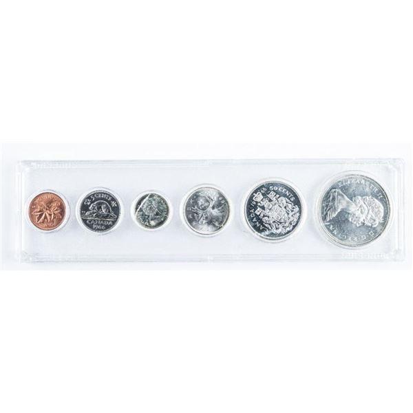 Canada 1966 Silver Year Set Cased, ASW 1.1oz