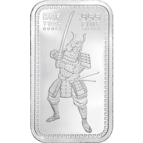 Collector Bullion Bar The Warrior .999 Fine  Silver 1oz