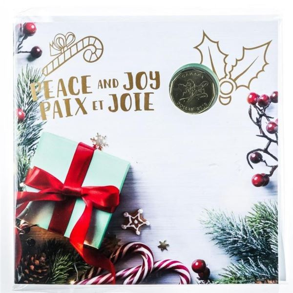 RCM 2018 Peace and Joy UNC Coins Special  Issue Folio
