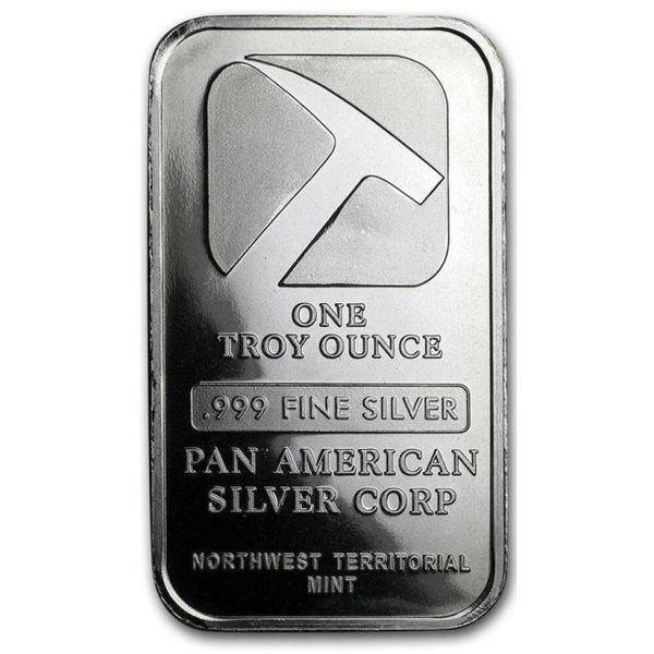 Pan American Silver - Collector Bar .999 Fine  Silver 1oz ASW
