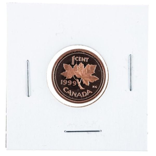 Canada 1999 Proof 1 Cent Coin