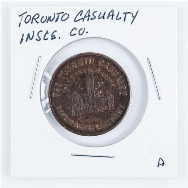 Toronto Casualty Fire and Marine Insurance  Co. Token