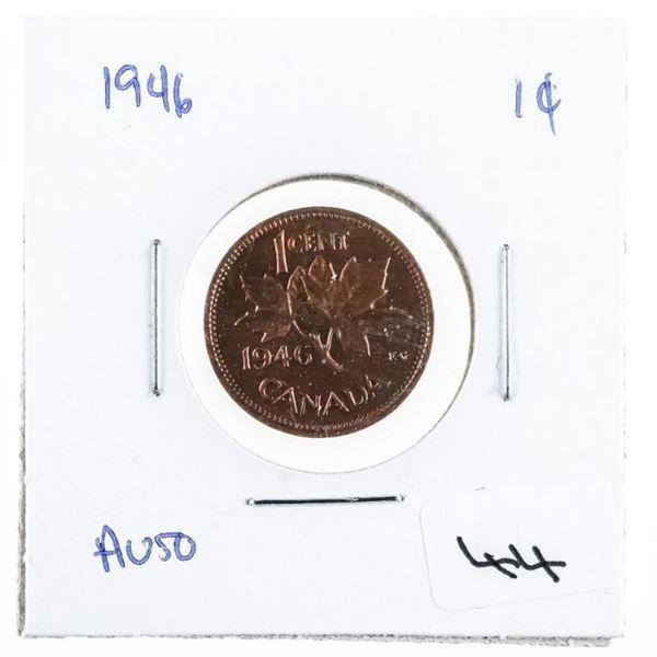 1946 Canada 1 cent AU50