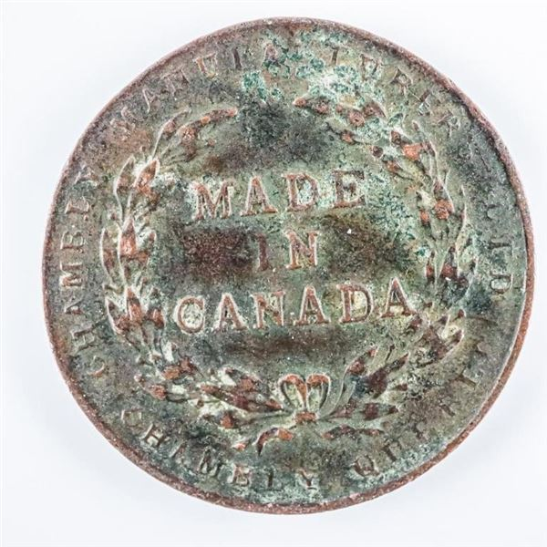 1915 Chambly Quebec Token