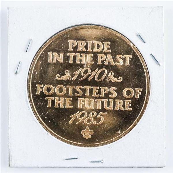 Diamond Jubilee Pride of the Past - 1910-1985  Medal