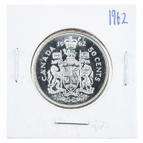 1962 Canada Silver 50 Cent