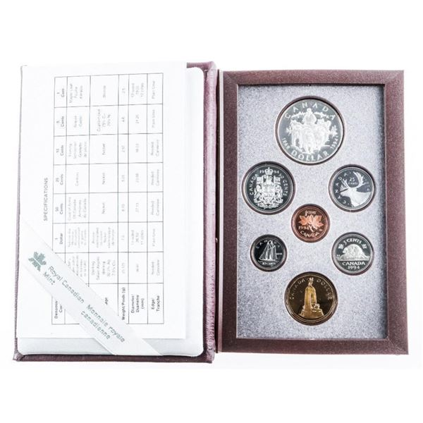 RCM 1994 Proof Mint Special Issue - Case Worn.