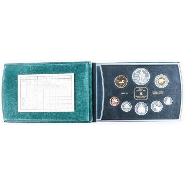 RCM Silver Proof Mint 1998 Set