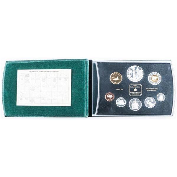 RCM Silver Proof Mint 2002 Set