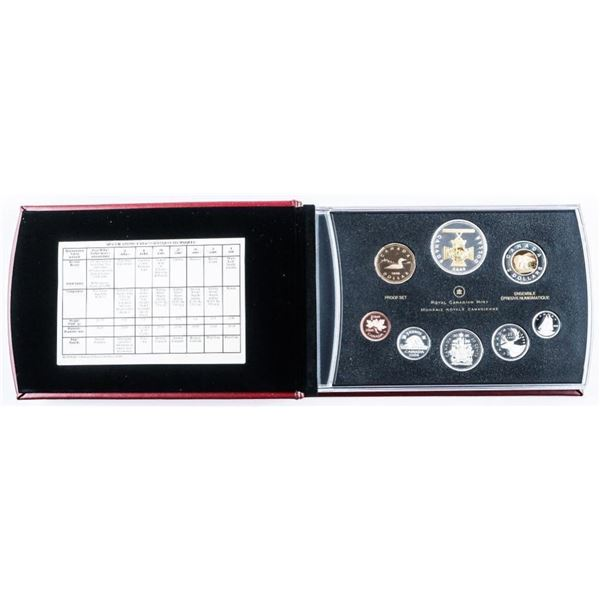 RCM Silver Proof Mint 2006 Set