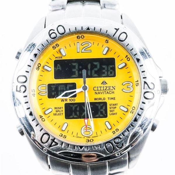 Citizen Navitech Watch World Time