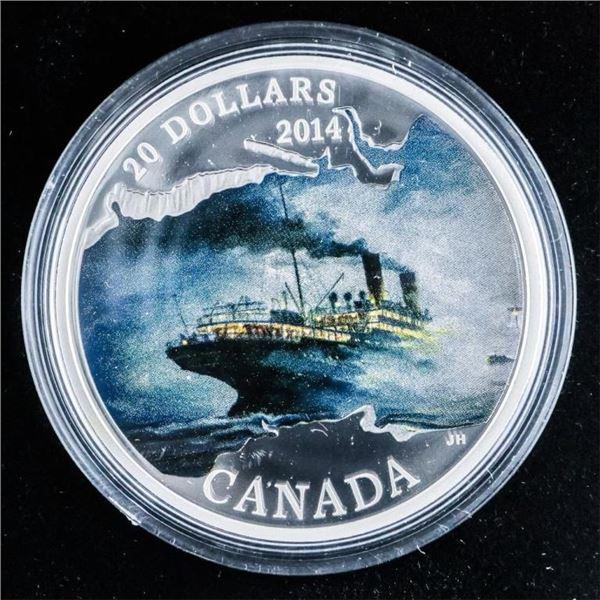 RCM 2014 .999 Fine Silver $20.00 R.M.S. Empress of
