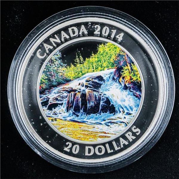 RCM - 2014 River Rapids .999 Fine Silver $20.00 LE