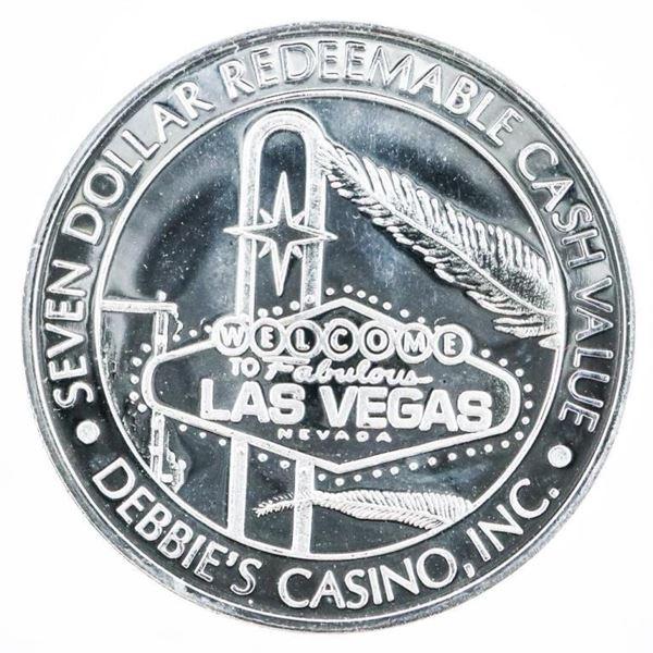 Debbie's Casino, Las Vegas .999 Fine Silver $7.00