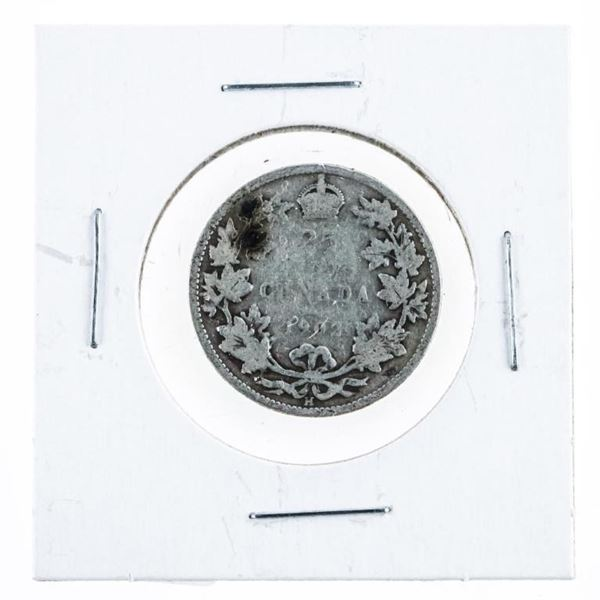 Canada 1902 Silver 25 Cents