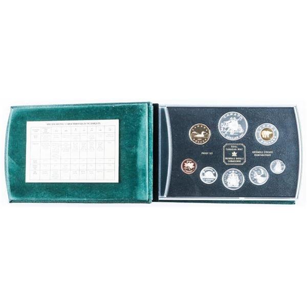 RCM 2001 Proof Coin Set