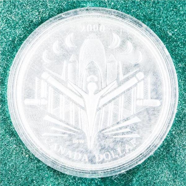 2000 CANADA Silver Dollar 925 Silver
