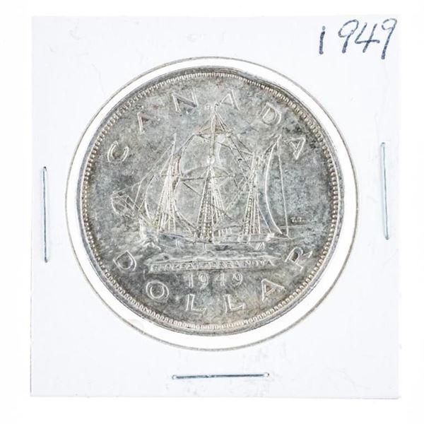 1949 Canada Silver Dollar