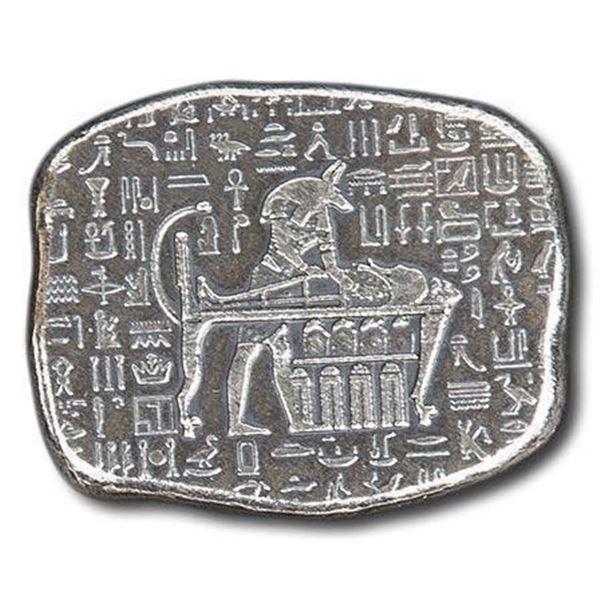 Egyptian - Collector Bar .999 Fine Silver 1oz ASW