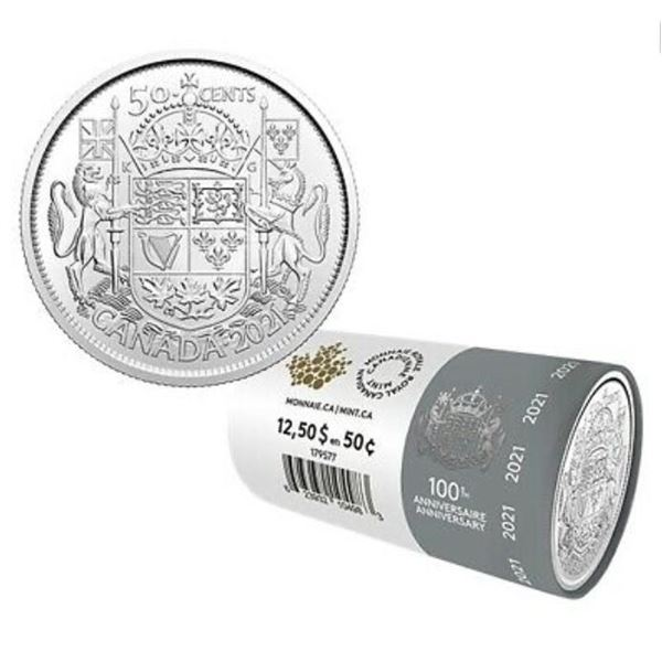 RCM 2021 - 100th Anniversary 50 Cents 'Special Wra