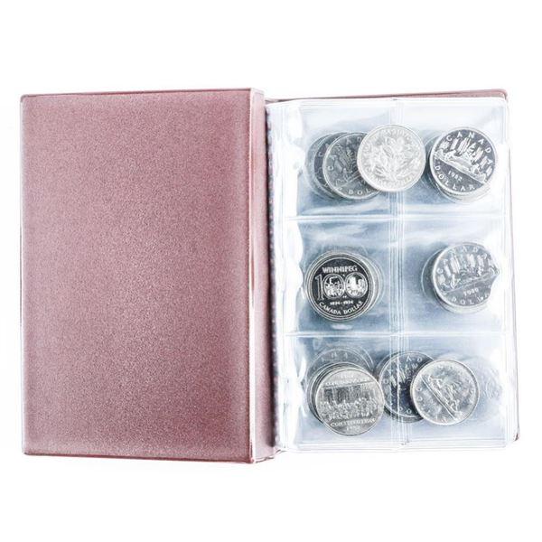 Coin Stock Book 60 Canada $1.00 Coins