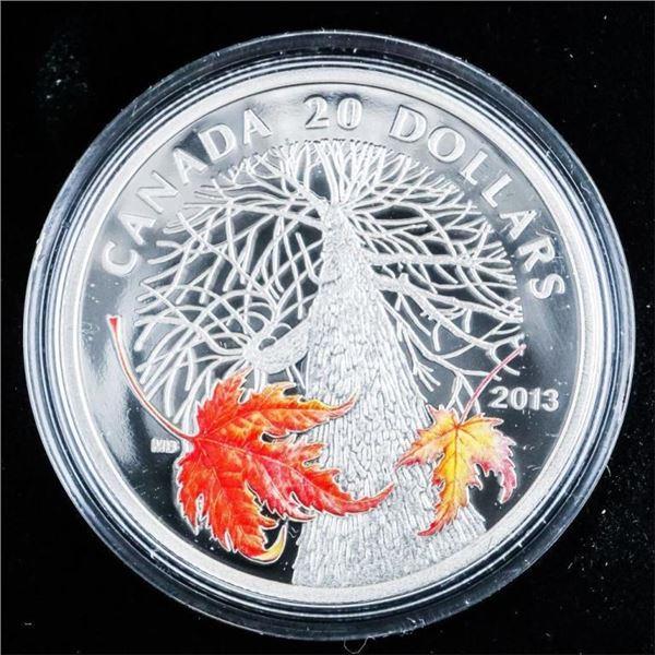RCM 2013 Canadian Maple Canopy - Autumn .999 Fine