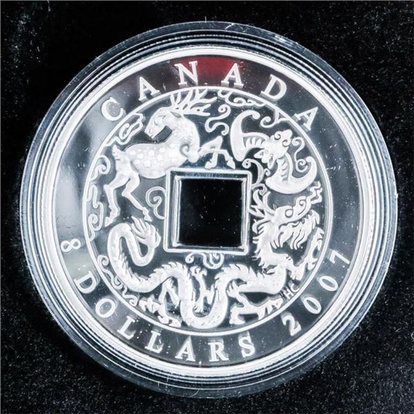 RCM 2007 $8.00 Chinese Coin .999 Fine Silver