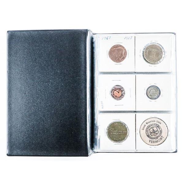 Coin Stock Book (60) World Coins - Tokens