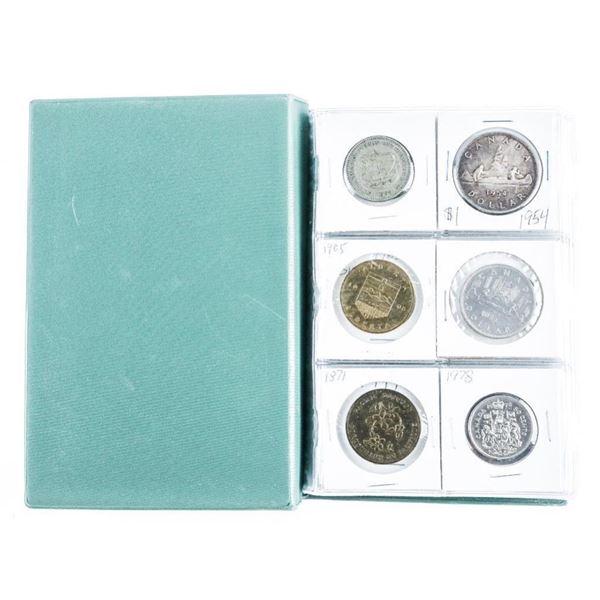 Coin Stock Book (60) USA and CANADA Coins