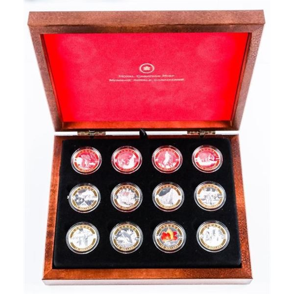 RCM 2013 - OH CANADA 12 Coin Collection .999 Fine