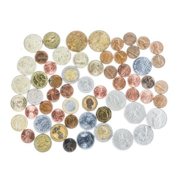 Estate - Bag Mixed Coins British, USA etc