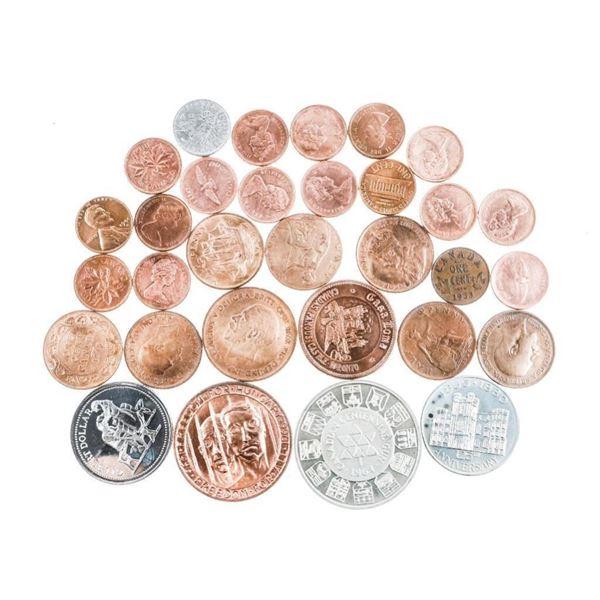 Mixed Bag - Estate, Coins, Tokens etc