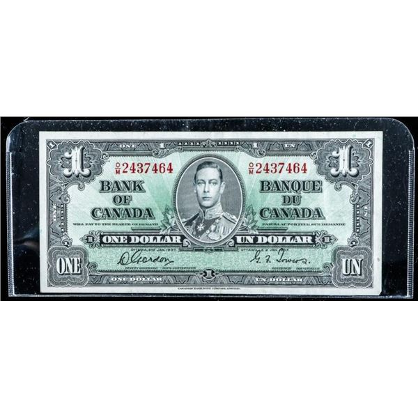 Bank of Canada 1937 1.00 (O/M) G/T