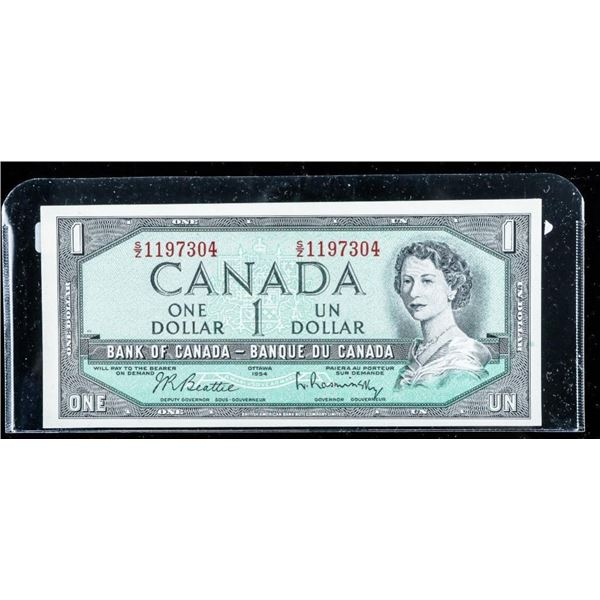 Bank of Canada 1954 1.00 (S2) UNC
