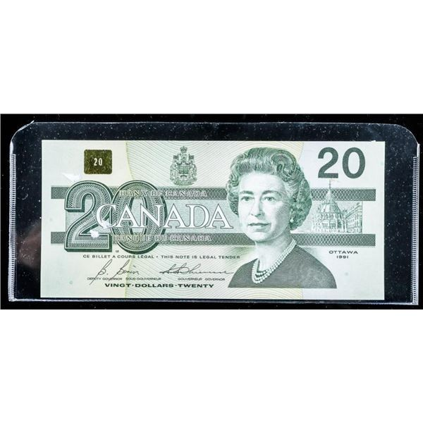 Bank of Canada 1991 - 20.00 (AIX) Note