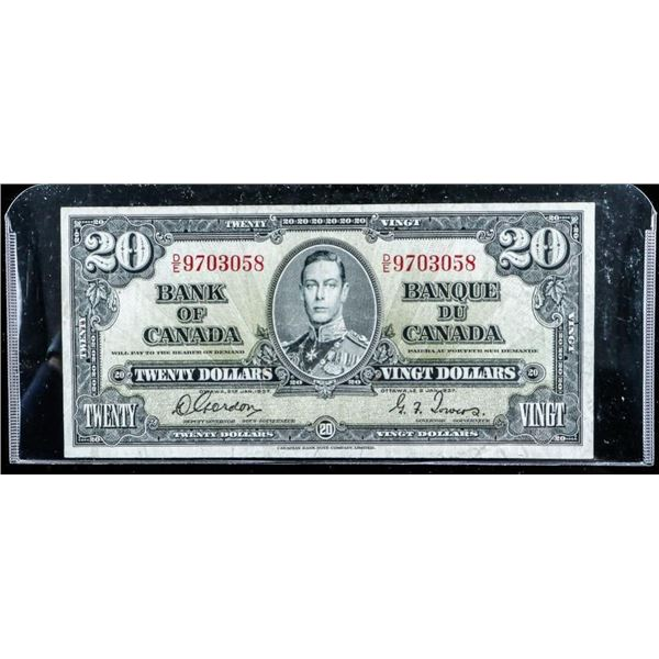 Bank of Canada 1937 20.00 (C-T)