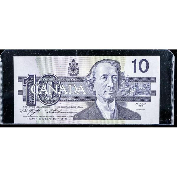 Bank of Canada 1989 10.00 (BEF) (AU)