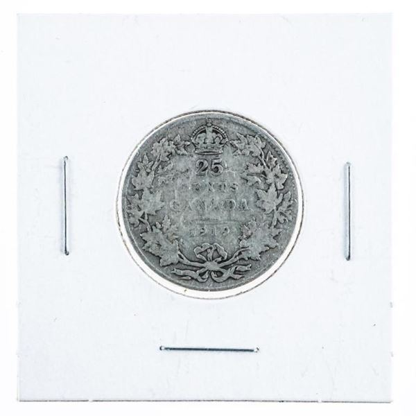 1919 Canada Silver 25c.