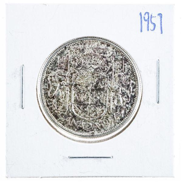 1957 Canada Sivler 50 Cent